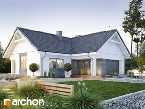 Projekt domu ARCHON+ Dom medzi bonsajmi 2 (G2)