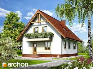 Projekt domu ARCHON+ Dom medzi prvosienkami 2 ver.2