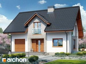 Projekt domu ARCHON+ Dom pri lesnej jabloni 5