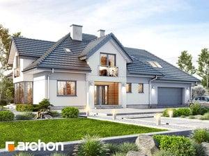 Projekt domu ARCHON+ Dom v slivkach 4 (G2)