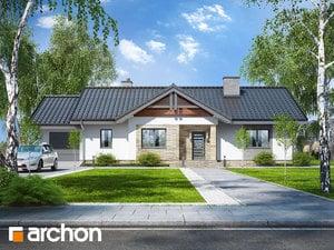 Projekt domu ARCHON+ Dom v chochlačkách 4
