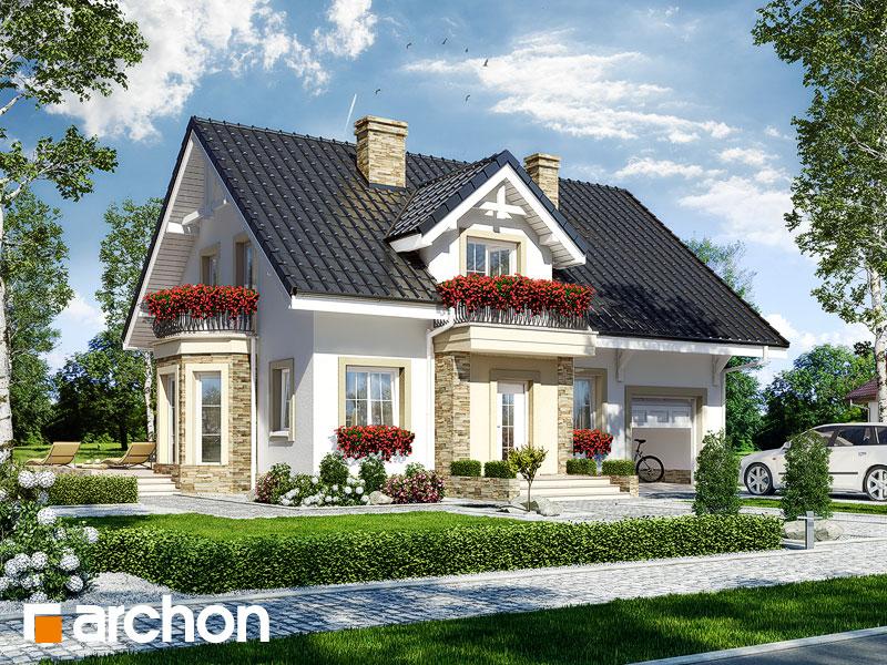 Dom medzi rododendronmi 14 ver.2 - Vizualizácia 1
