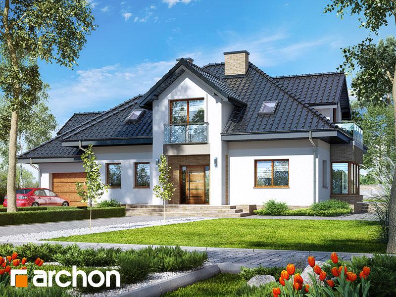 Dom v kornútovkách 5 (N) - Vizualizácia 1
