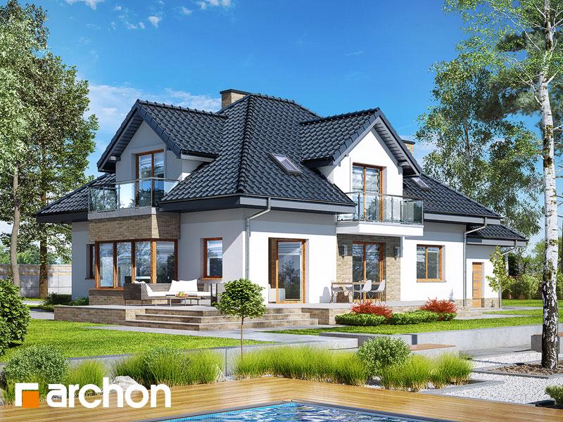 Dom v kornútovkách 5 (N) - Vizualizácia 2
