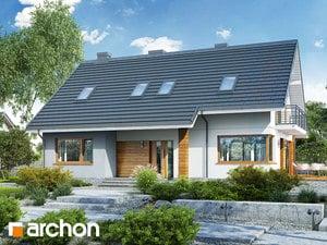 Projekt domu ARCHON+ Dom v idaredách 9