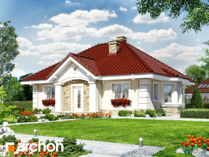 Dom uprostred lotosu 2 ver.2 - Vizualizácia 1