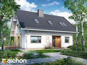 Projekt domu ARCHON+ Dom pod čerešňami