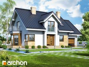 Projekt domu ARCHON+ Dom medzi rododendronmi 6 (A) ver.2