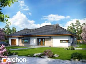 Projekt domu ARCHON+ Dom pod jarabinou (GN) ver.2