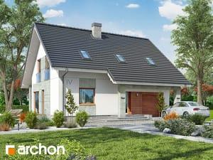 Projekt domu ARCHON+ Dom v krásnoplodkách 2 (P)