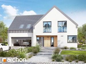 Projekt domu ARCHON+ Dom v orličkách (G2N)
