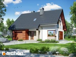 Projekt domu ARCHON+ Dom pri lesnej jabloni 9