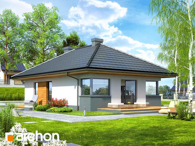 Dom v tôňovkách TERMO - Vizualizácia 2