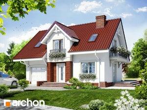 Projekt domu ARCHON+ Dom v portulakách ver.3