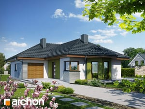 Projekt domu ARCHON+ Dom v pupencoch 2 ver.2