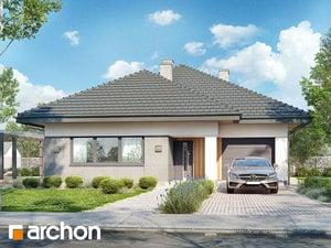 Projekt domu ARCHON+ Dom v orgovánoch 8 (G)
