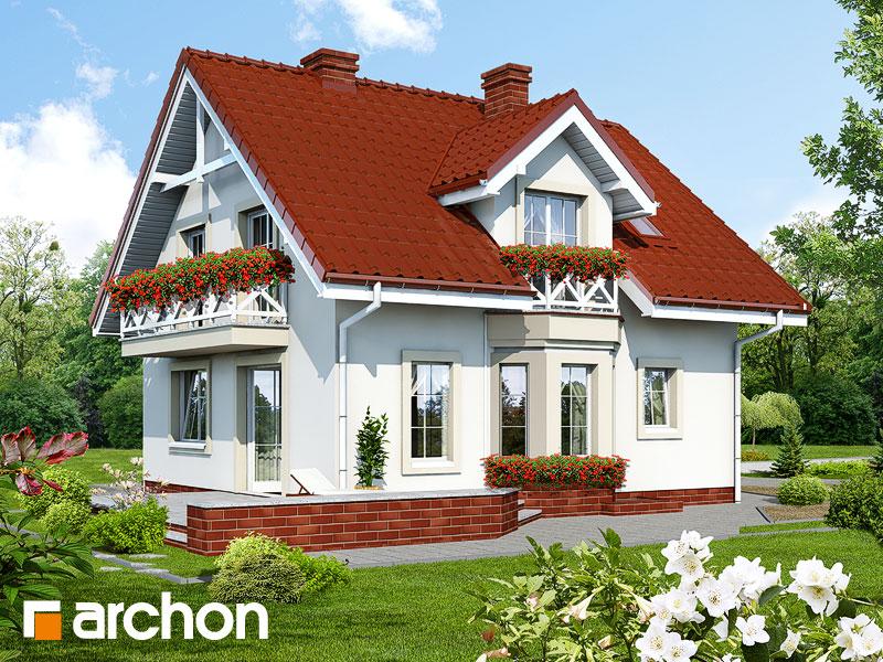 Dom medzi rododendronmi (P) ver.2 - Vizualizácia 2