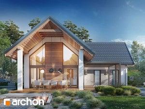 Projekt domu ARCHON+ Dom v marinkách 2