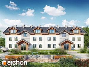 Projekt domu ARCHON+ Dom na bulvári 23