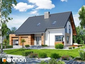 Projekt domu ARCHON+ Dom pri lesnej jabloni 8 (G2)