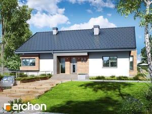 Projekt domu ARCHON+ Dom pod jarabinou 16 (PN)