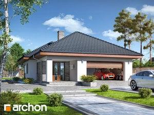 Projekt domu ARCHON+ Dom pri močiarnych kvetoch (G2)