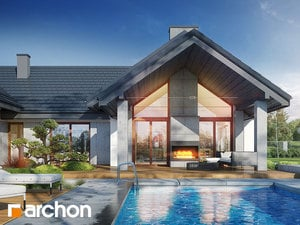 Projekt domu ARCHON+ Dom medzi kliviami 10 (G2)