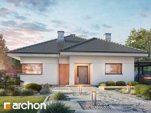 Projekt domu ARCHON+ Dom medzi ringlotami 4