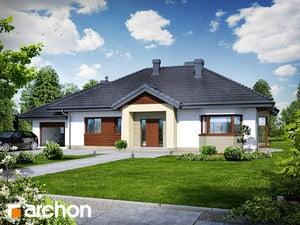 Projekt domu ARCHON+ Dom medzi gaurami (N) ver.2