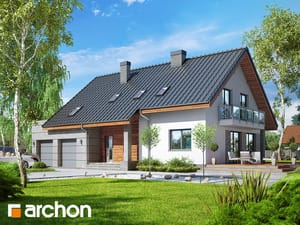 Projekt domu ARCHON+ Dom v idaredách 7 (G2)