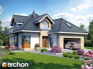 Projekt domu ARCHON+ Dom v rukole (G2N) ver.2