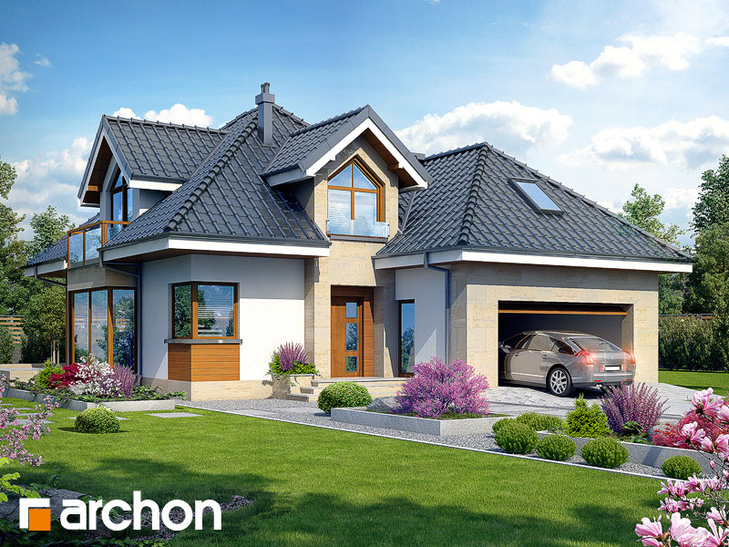 Dom v rukole (G2N) ver.2 - Vizualizácia 1