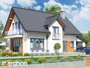 Projekt domu ARCHON+ Dom pri sladkom drievku (G) ver.2