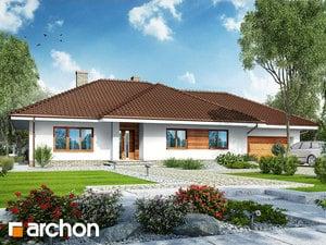 Projekt domu ARCHON+ Dom pod rozkvitnutou jabloňou 2 (G2)