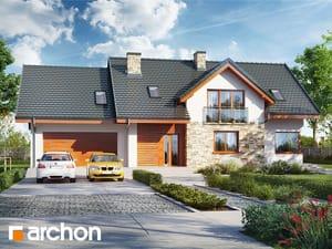Projekt domu ARCHON+ Dom medzi kanami 4 (G2)