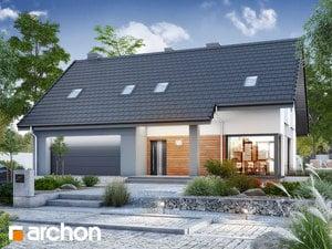 Projekt domu ARCHON+ Dom pri lesnej jabloni 15 (G2)