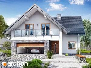 Projekt domu ARCHON+ Dom v Montbréciach (G2)
