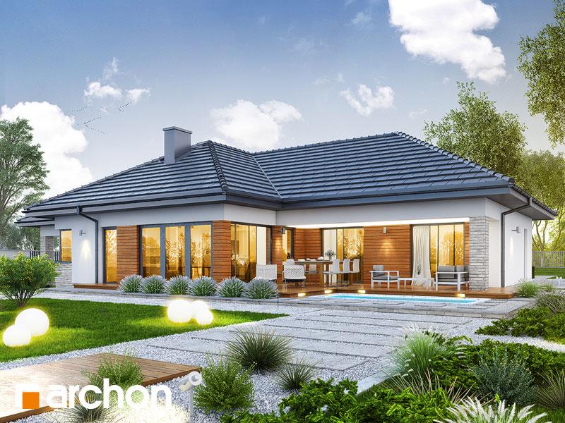 Dom v araukárie (G2) - Vizualizácia 1