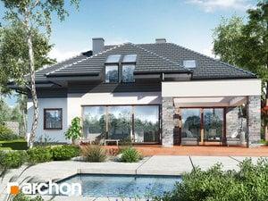 Projekt domu ARCHON+ Dom medzi letnými fialkami 2 (G2)
