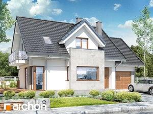 Projekt domu ARCHON+ Dom medzi ananásmi (N) ver.2