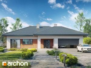 Projekt domu ARCHON+ Dom v jonagoldách 6 (G2)