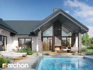 Projekt domu ARCHON+ Dom medzi kliviami 6 (G2)