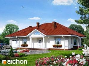 Projekt domu ARCHON+ Dom pod jarabinou (G) ver.2