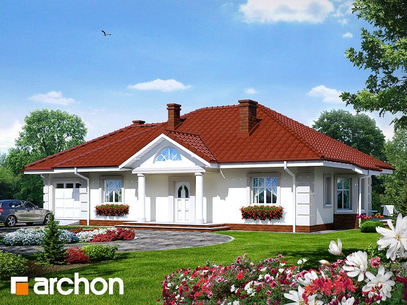 Dom pod jarabinou (G) ver.2 - Vizualizácia 1