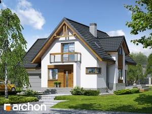 Projekt domu ARCHON+ Dom medzi marhuľami (N) ver.2