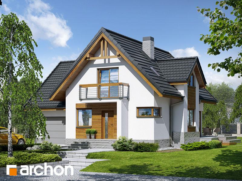 Dom medzi marhuľami (N) ver.2 - Vizualizácia 1