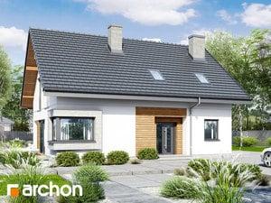 Projekt domu ARCHON+ Dom vsmaragdoch 2