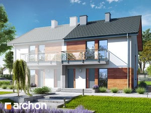 Projekt domu ARCHON+ Dom medzi macoškami (R2B)