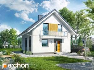 Projekt domu ARCHON+ Dom v arkádiách 2