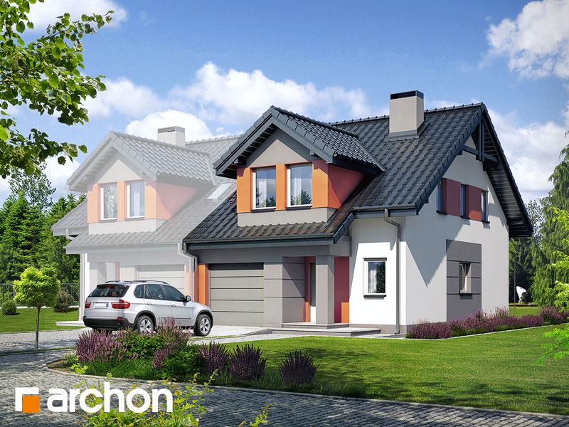 Dom v plamienkoch 9 (AB) ver.3 - Vizualizácia 1